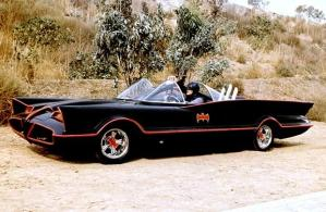 My childhood hero Batman in his cool car
