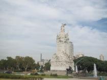 Monumento of Los Espanoles in Buenos Aires