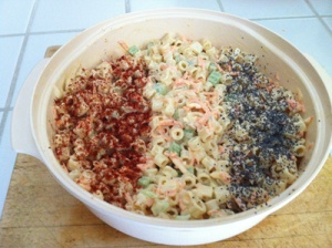 4th of July Macaroni Salad