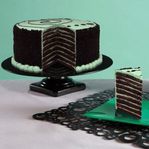 Chocolate Mint Smith Island Cake via Delish.com