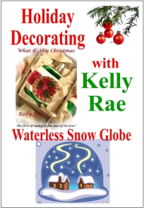 Kelly Rae Holiday Craft