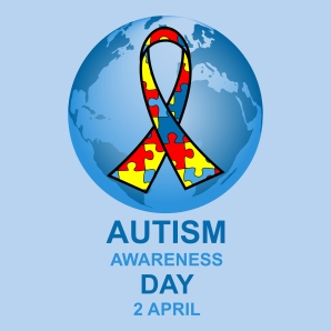 Autism awareness day design