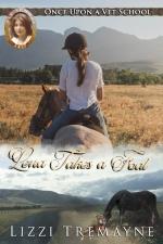 Lena takes a foal