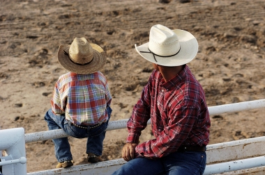 bigstock_Cowboys_Young_And_Old_681538